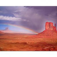 Monument Valley Rainbow by cs750