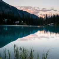 Emerald Lake Sunrise by Simon M. in Regular Member Gallery
