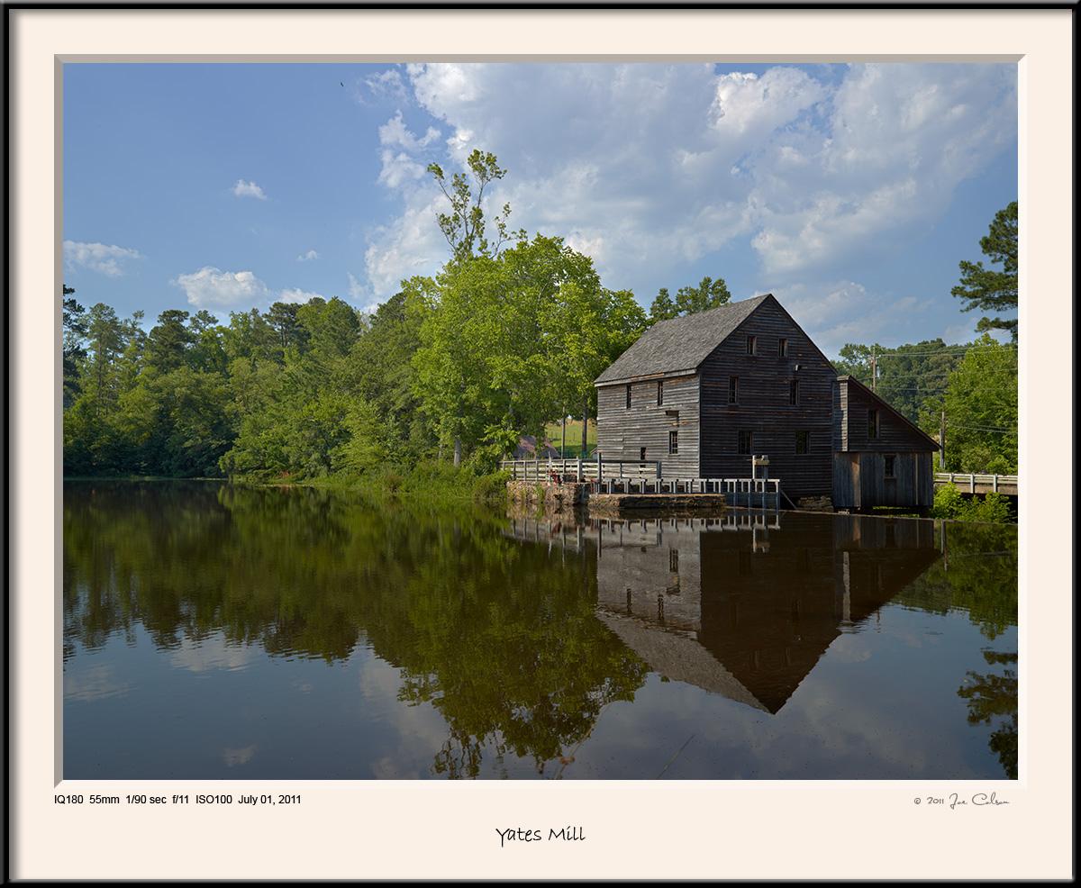 Yates Mill by Joe Colson in Regular Member Gallery