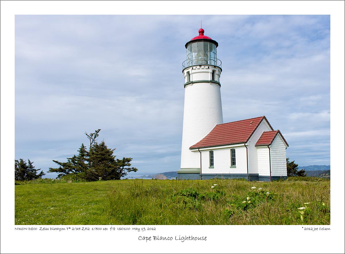 Cape Blanco Lighthouse by Joe Colson in Regular Member Gallery