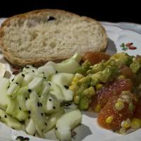 Summer Salad With Pain Rustique by engel001 in Regular Member Gallery