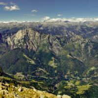 Monte Gridone Panorama by engel001