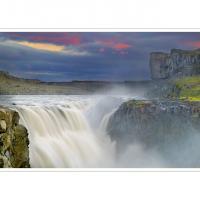 Dettifoss by Ben Rubinstein in Iceland