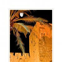 Golden Walls by Ben Rubinstein in Jerusalem Night 2004