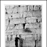 Kotel Rain by Ben Rubinstein