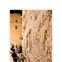 Kotel by Ben Rubinstein in Jerusalem Night 2004