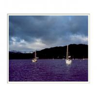 Windermere Storm by Ben Rubinstein in Lake District