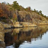 Octoberlight by Arne Hvaring in Arne Hvaring