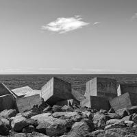 Wave Breakers by Arne Hvaring