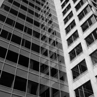 The Chevron Building in B&W by bensonga