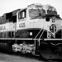 Alaska Railroad Engine 4325 by bensonga in bensonga