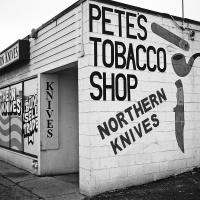 Pete's Tobacco Shop B&w by bensonga in bensonga