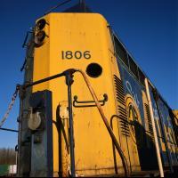 Alaska Railroad Engine 1806 (retired) by bensonga