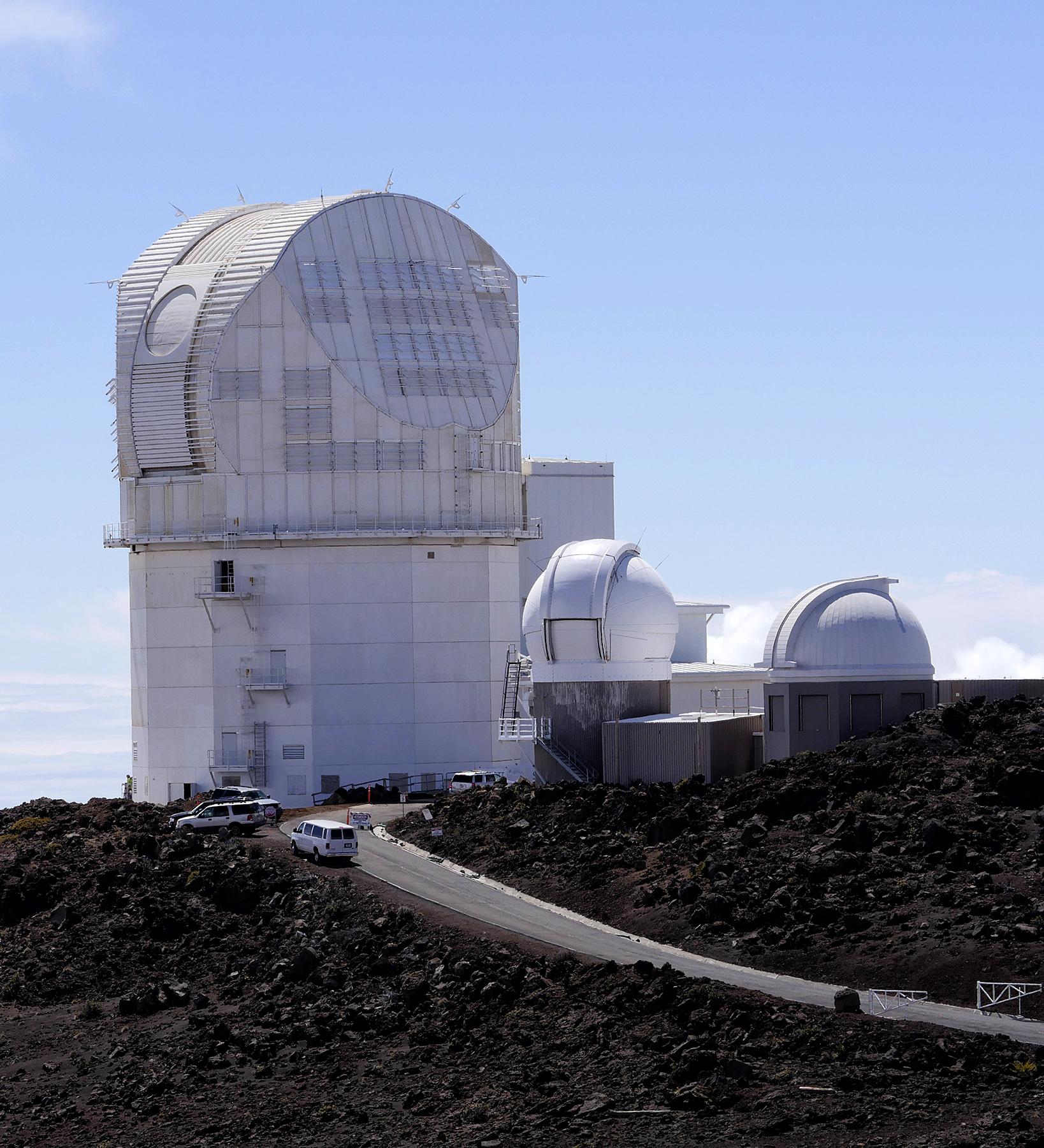 Haleakala Observatories by bensonga in bensonga
