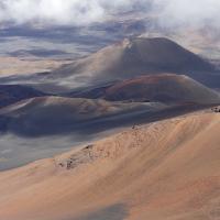 Haleakala Valley and Cinder Cones on Maui by bensonga in bensonga