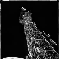 Alascom Dish and Tower by bensonga in bensonga