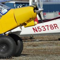 Plane at Birchwood, Alaska airport by bensonga in bensonga