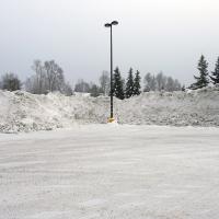 Winter BP Snow Pile by bensonga in bensonga