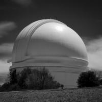 Palomar Observatory Hale Telescope Dome by bensonga in bensonga