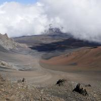 Haleakala Valley on Maui by bensonga