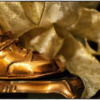 Bronzed Baby Shoes by bensonga in bensonga
