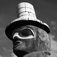Alaska Rr Station Totem by bensonga in bensonga