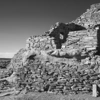Wupatki Ruins National Monument B&W by bensonga in bensonga