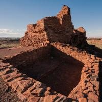 Wupatki Ruin, Arizona by bensonga