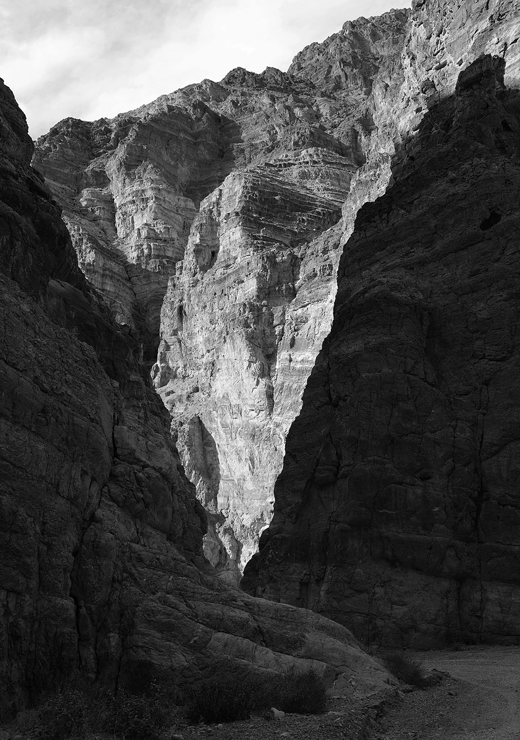 Death Valley Np Entrance To Titus Canyon by bensonga in bensonga
