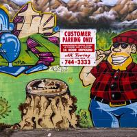 Pete's Tobacco Shop Mural by bensonga