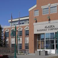 Alaska Railroad Headquarters by bensonga