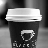 Black Cup Coffee by bensonga in bensonga