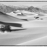 DVNP Mesquite Dunes and Grapevine Mountains by bensonga