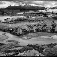 Matanuska Glacier rocks and mud by bensonga in bensonga