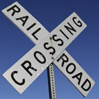 AK RR Crossing Sign by bensonga
