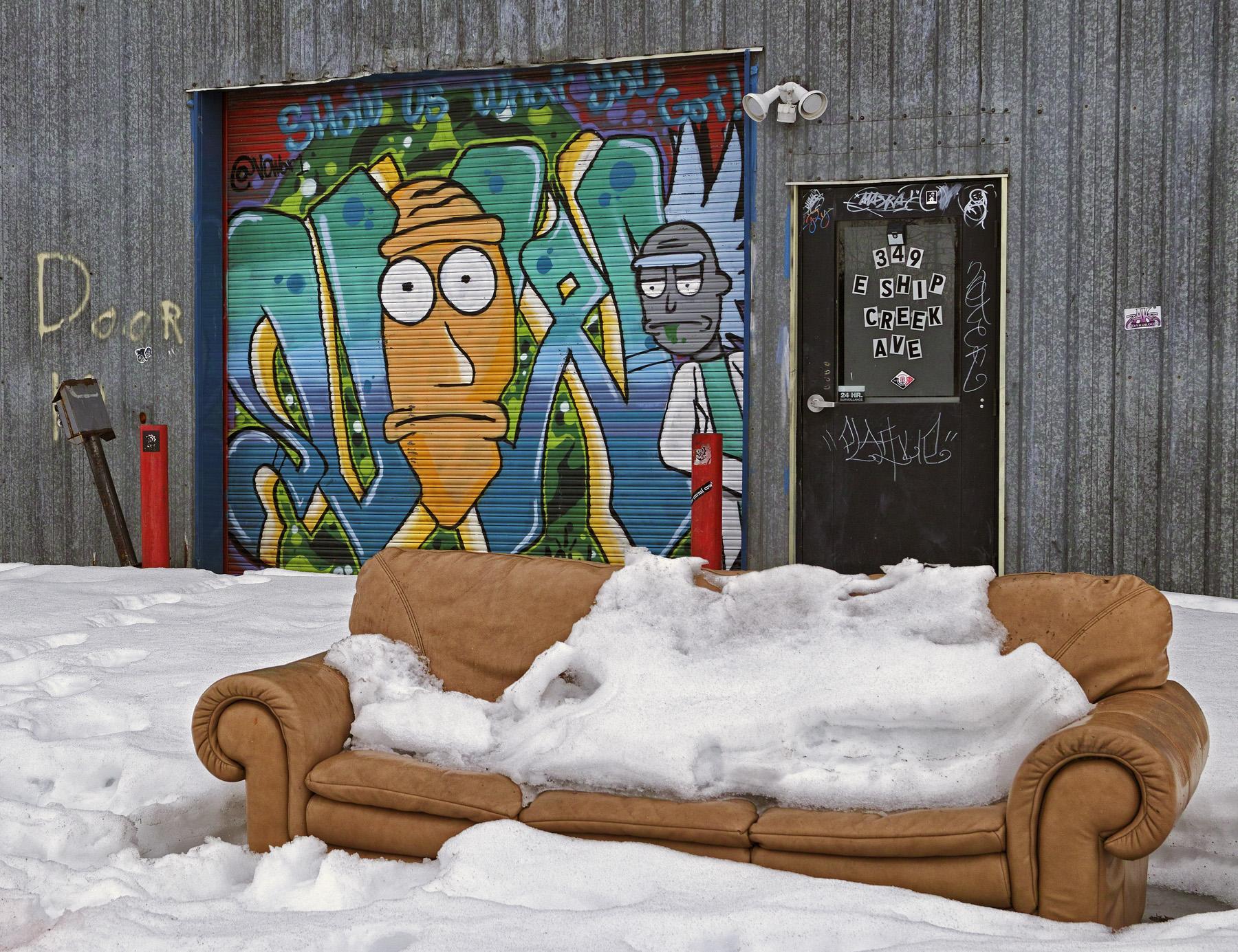 Ship Creek Art Co-op Door