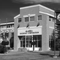 Alaska Railroad Headquarters Building by bensonga in bensonga