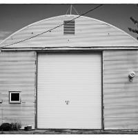 Anchorage Ship Creek Quonset Hut by bensonga in bensonga