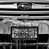 SUBEDU winter driving by bensonga in bensonga