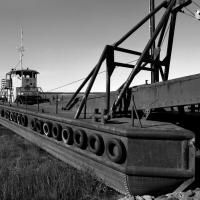 Cook Inlet Barge-dredge by bensonga in bensonga