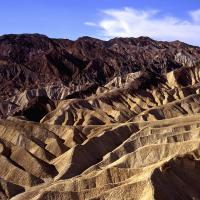 Death Valley Hills From Zabriskie Point