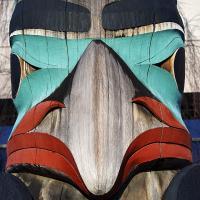 Raven Totem by bensonga in bensonga