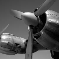 TWA Lockheed Constellation Engines by bensonga