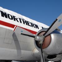 Northern Air Cargo Douglas Dc-6 by bensonga