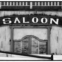 """Eagle River """"saloon"""" B&w by bensonga in bensonga"""