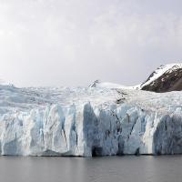 Portage Glacier by bensonga in bensonga