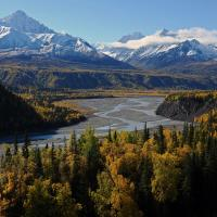 Matanuska River Valley, Alaska by bensonga in bensonga