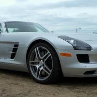 Dscf0077 2012 Mercedes Sls Amg Gull Wing Xl by bensonga
