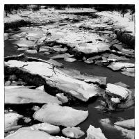 Ship Creek Ice Floes by bensonga in bensonga