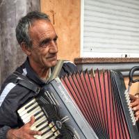 Gibraltar Street Musician by bensonga